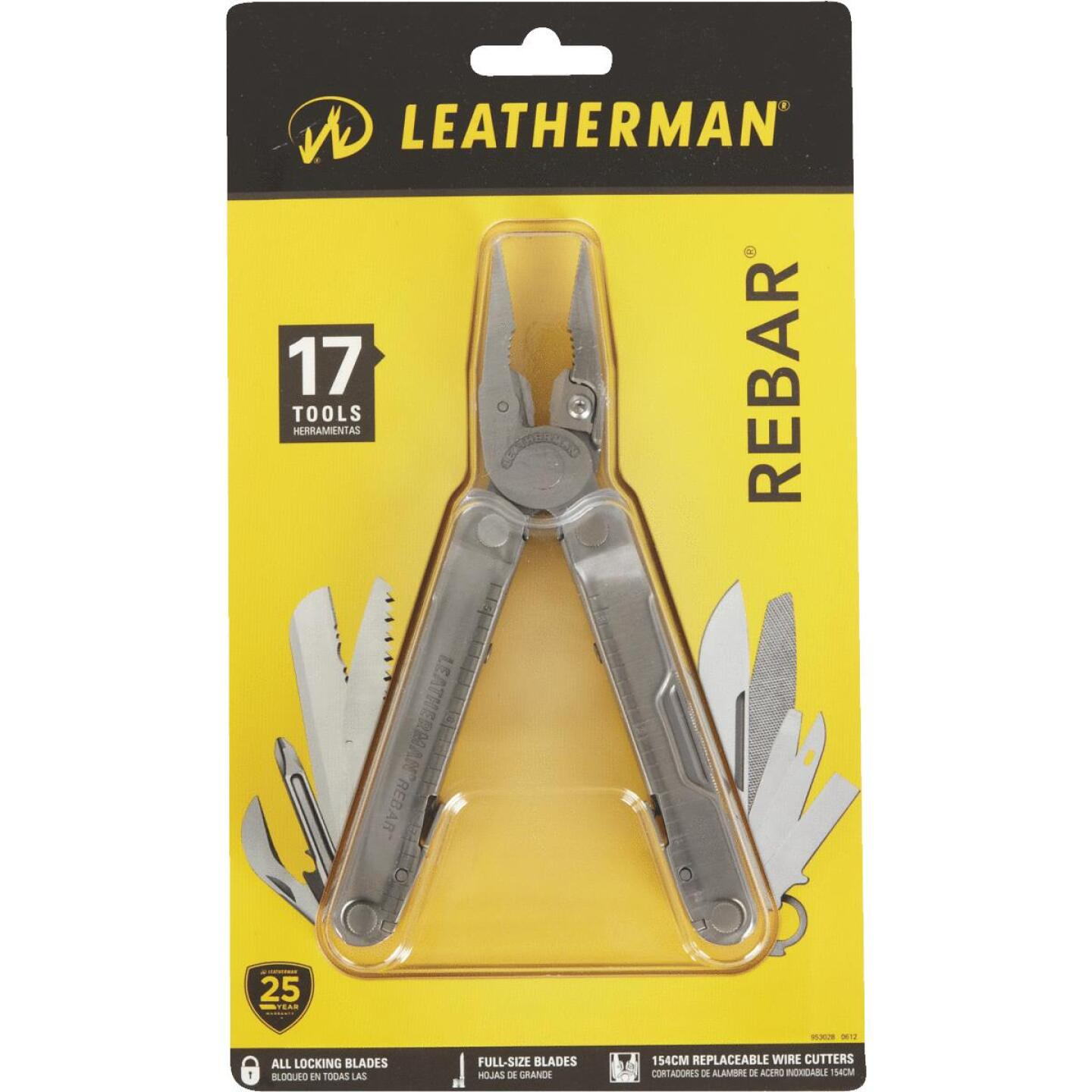 Leatherman Rebar 17-In-1 Stainless Steel Multi-Tool Image 2