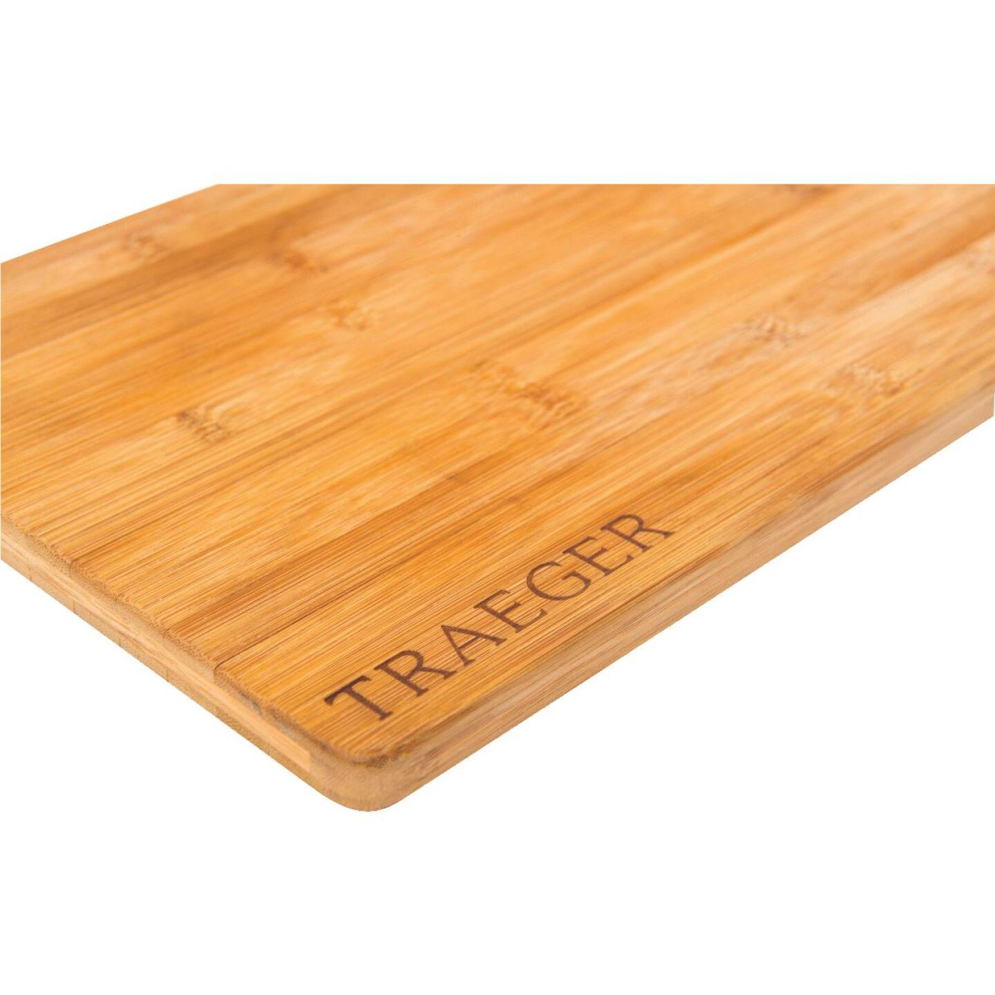 Traeger 9.5 In. x 13.5 In. Magnetic Bamboo Cutting Board Image 1