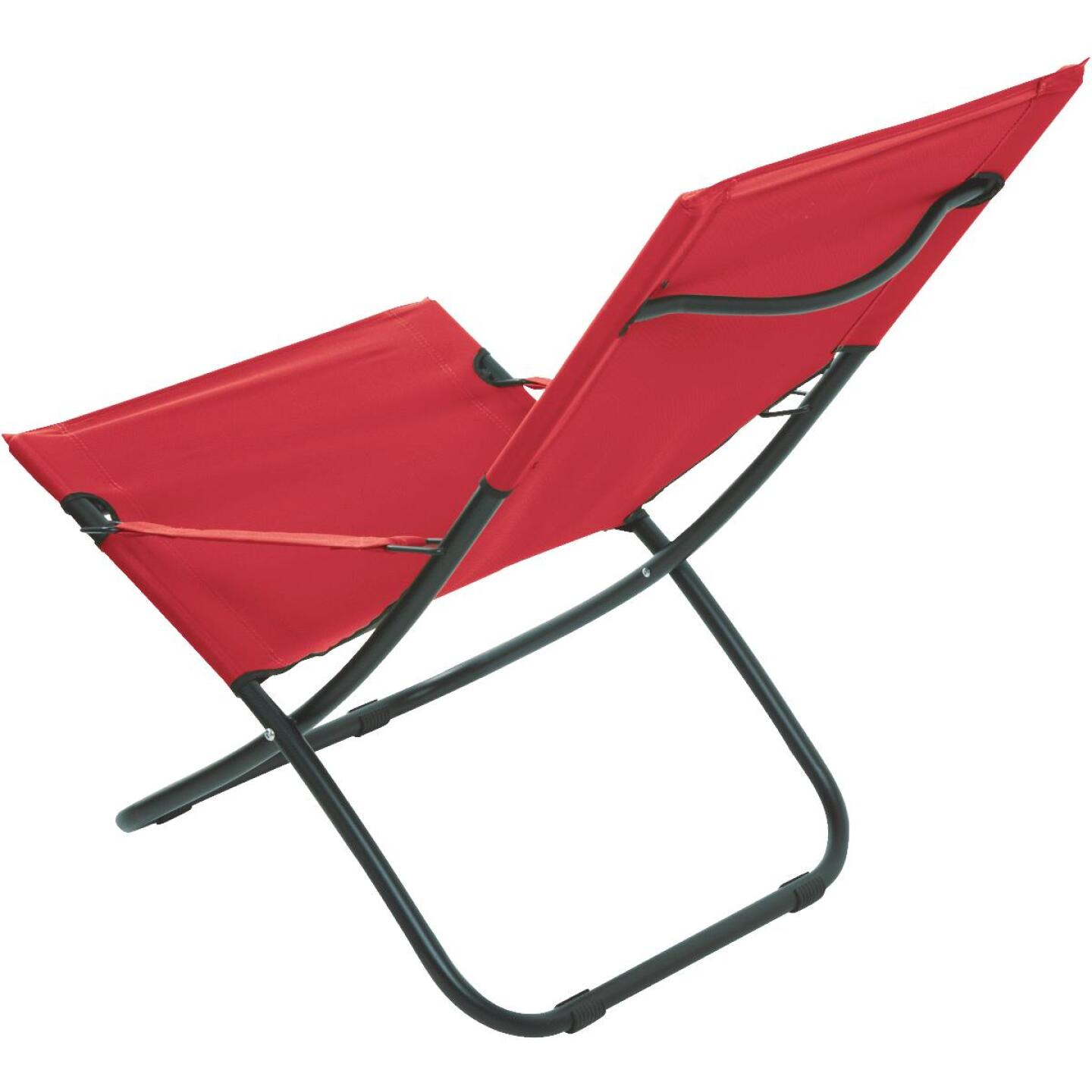 Pride Family Brands Folding Hammock Chair, Red Image 3