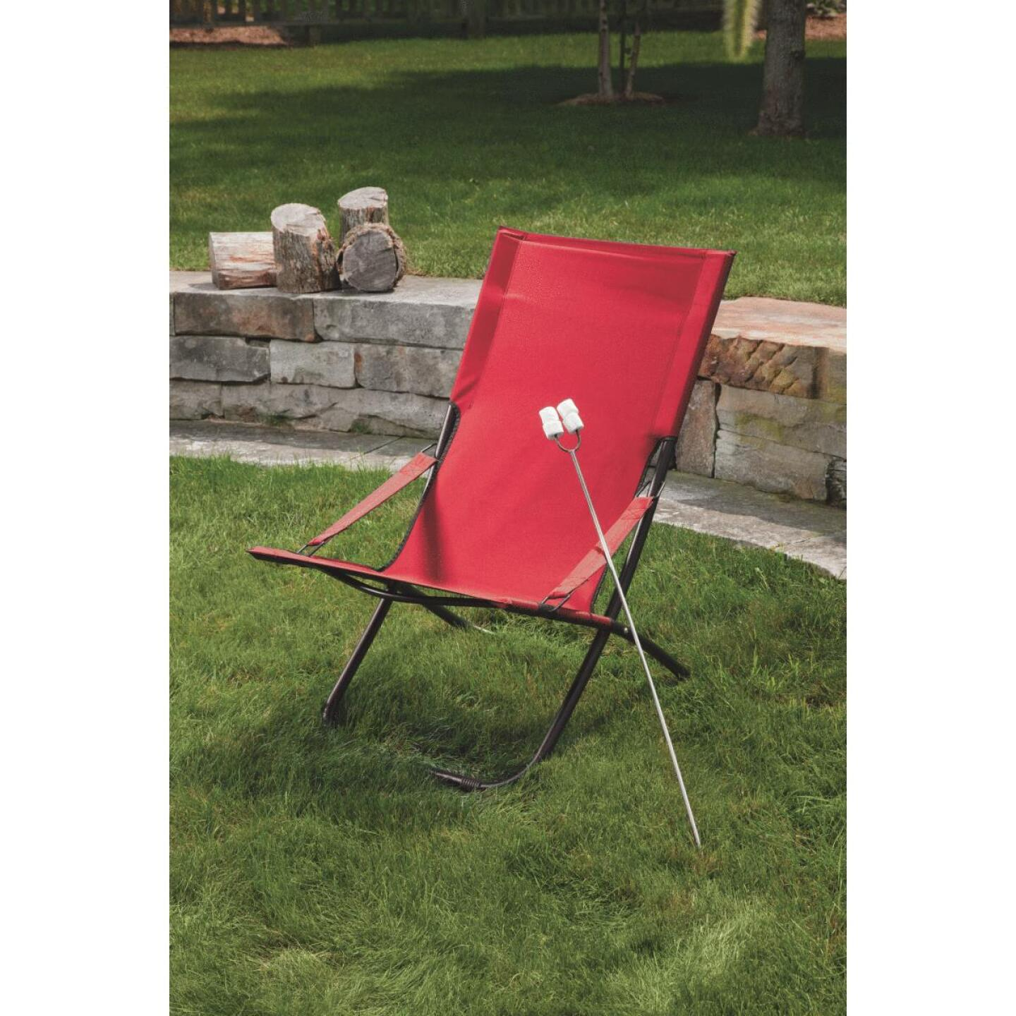 Pride Family Brands Folding Hammock Chair, Red Image 4