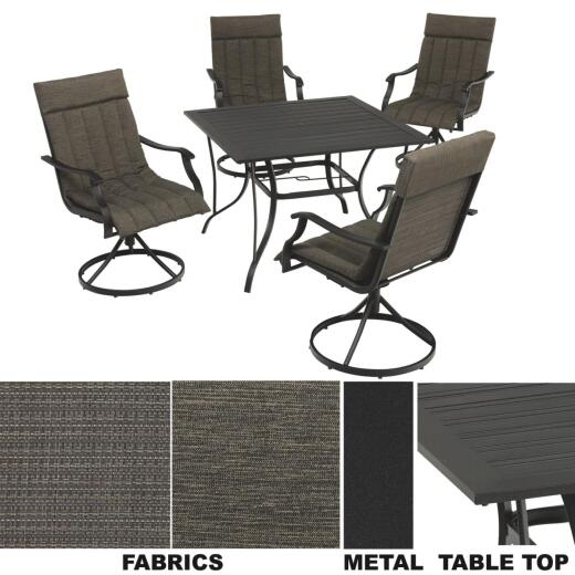 Outdoor Expressions Fort Kent 5-Piece Dining Set