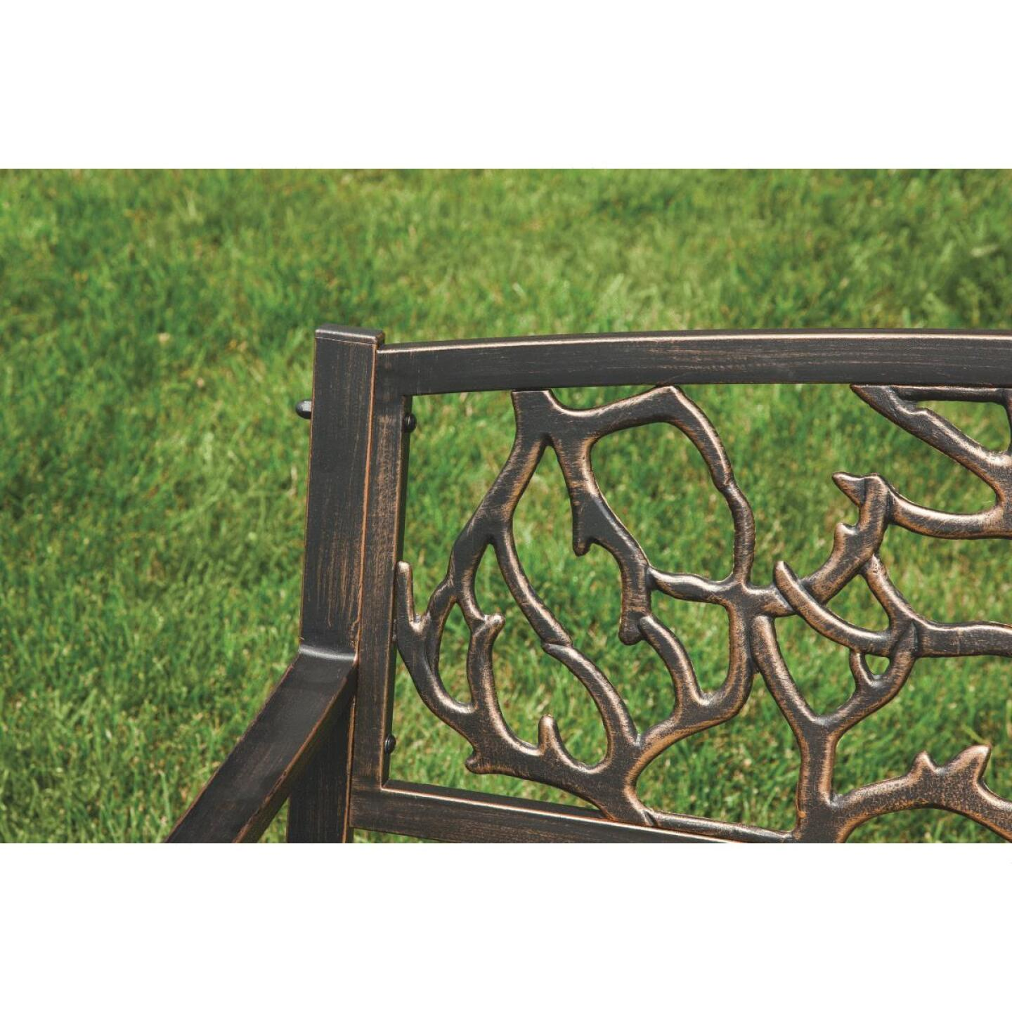 Outdoor Expressions Steel Branch Bench Image 6