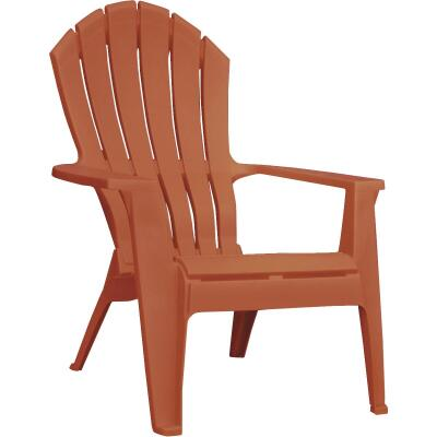 Adams RealComfort Potters Clay Resin Adirondack Chair