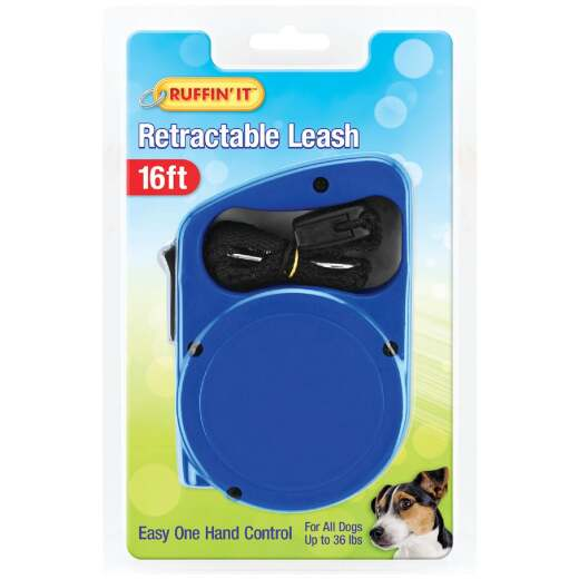 Westminster Pet Ruffin' it Up to 36 Lb. 16 Ft. Webbed Retractable Leash