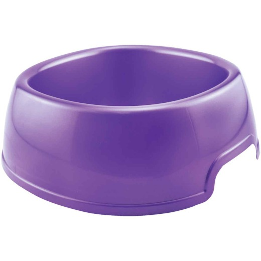 Westminster Pet Ruffin' it Plastic Rounded Square Jumbo Pet Food Bowl