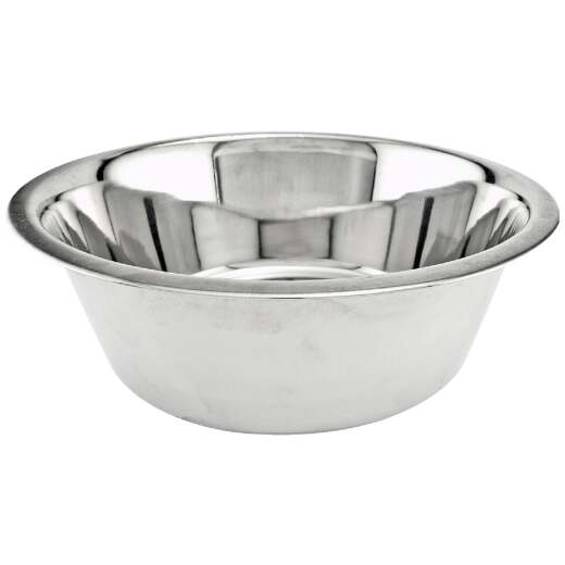 Westminster Pet Ruffin' it Stainless Steel Round 3 Qt. Pet Food Bowl