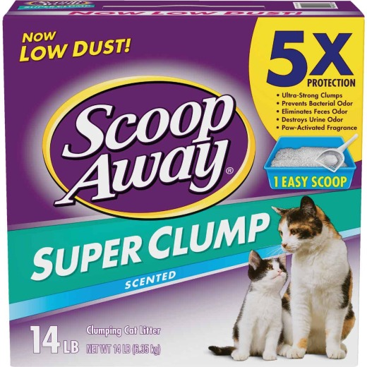 Scoop Away Super Clump 14 Lb. High Absorbent Cat Litter