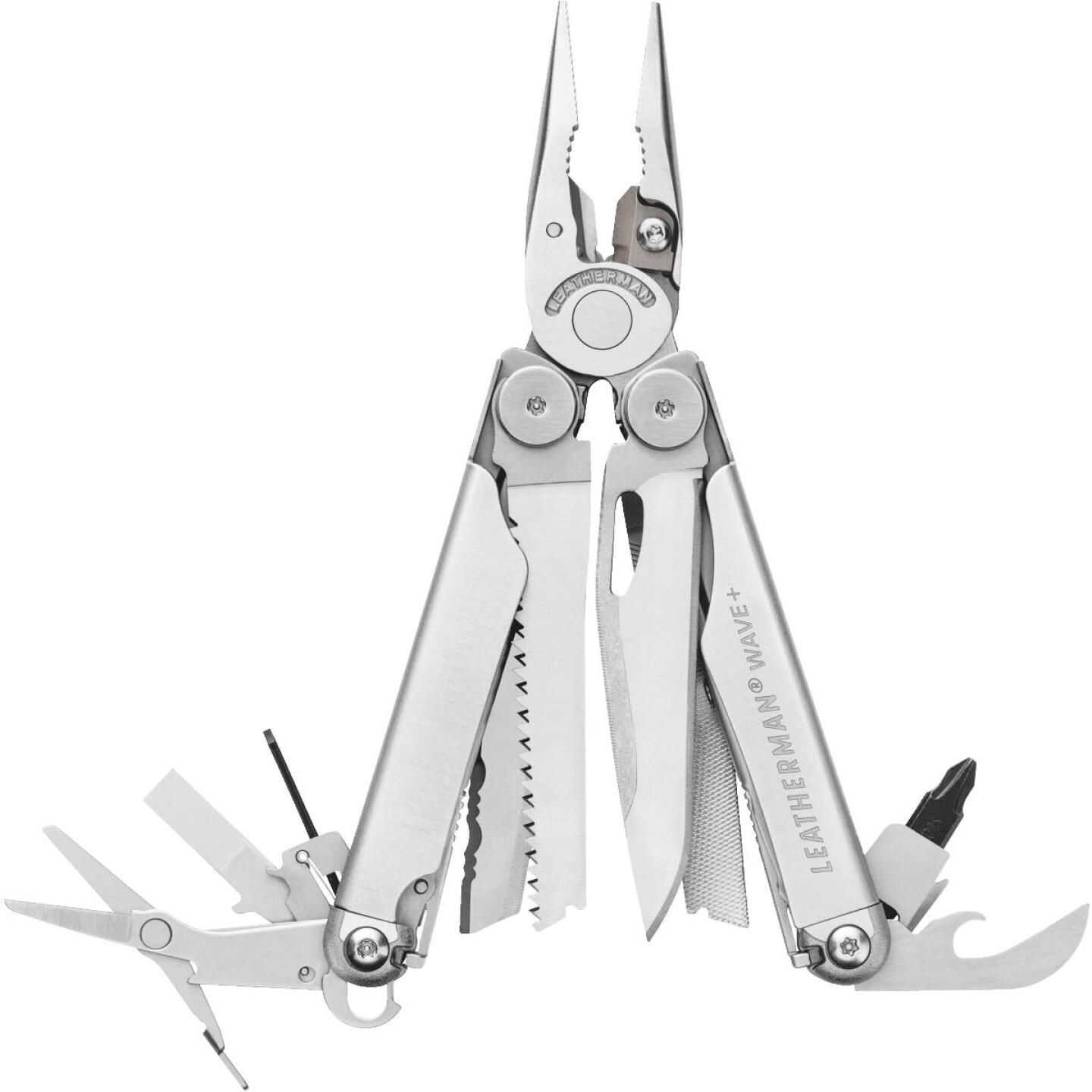 Leatherman Wave 18-In-1 Stainless Steel Multi-Tool Image 1