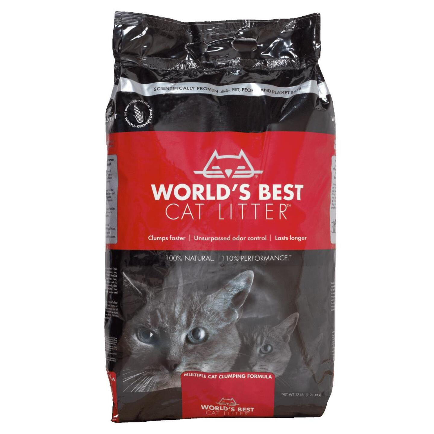 Kent World's Best Cat Litter 17 Lb. Organic Cat Litter Image 1