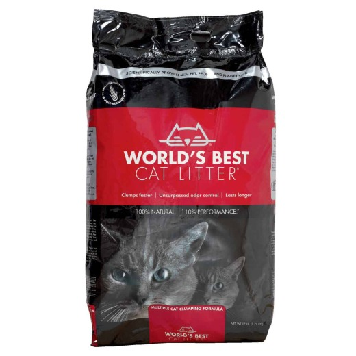 Kent World's Best Cat Litter 17 Lb. Organic Cat Litter