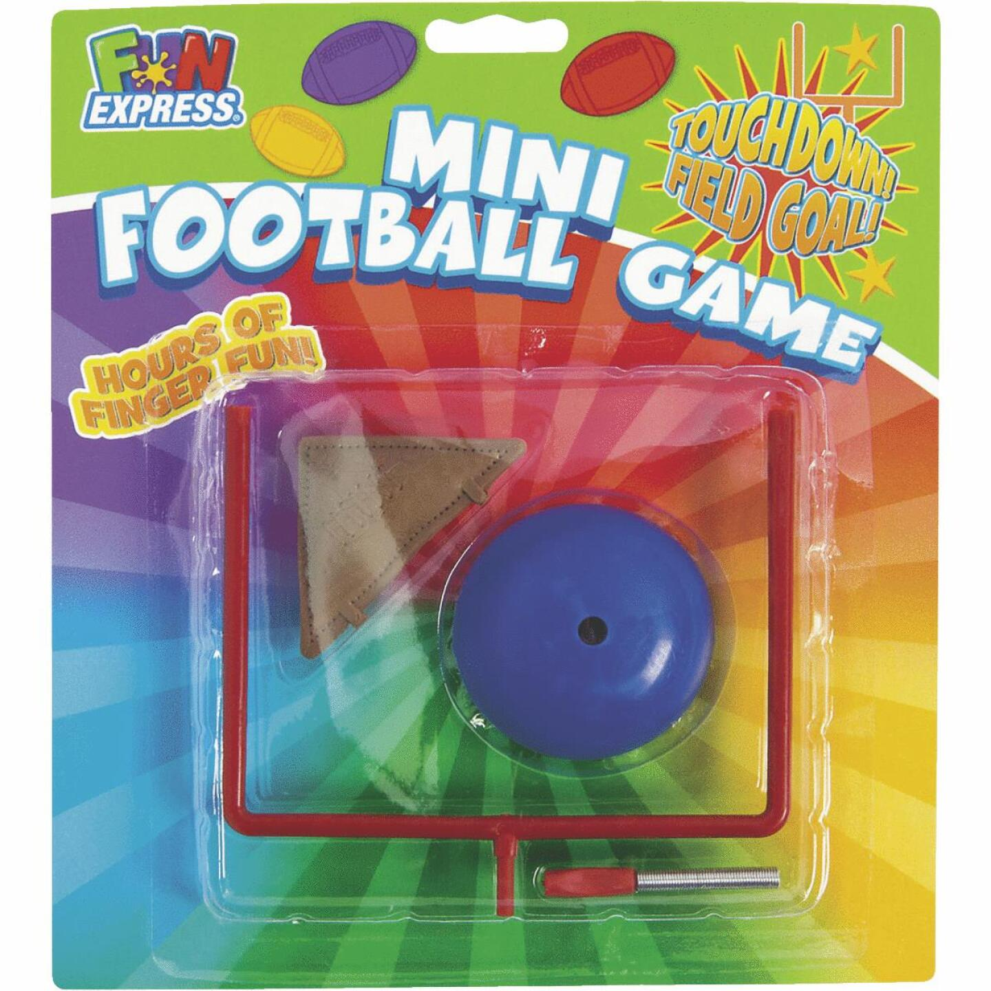 Fun Express Multi-Colored Plastic 3 & Over Table Top Football Game Image 1