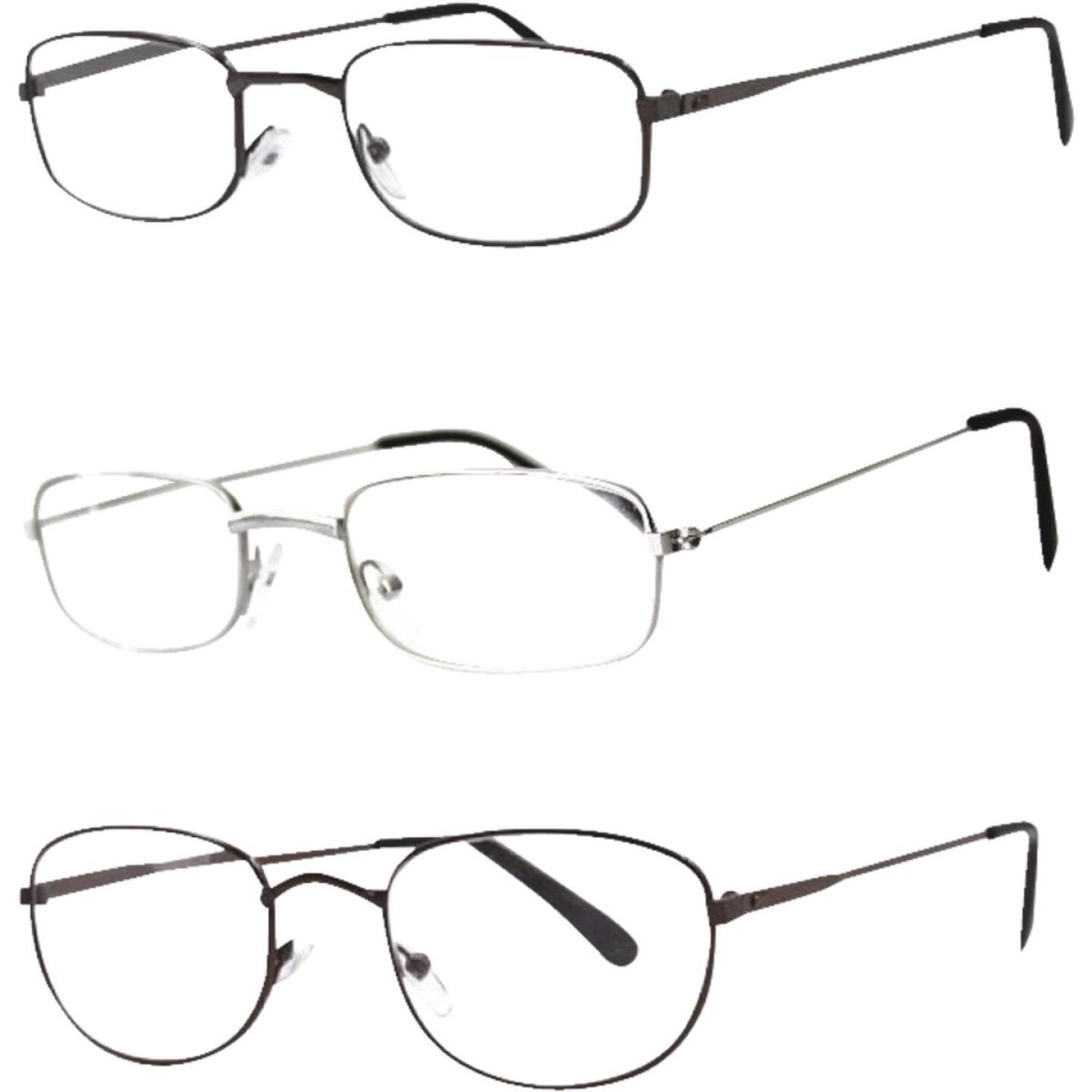 Axiom SEEVIX Assorted Metal Reading Glasses Image 1