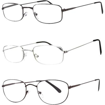 Axiom SEEVIX Assorted Metal Reading Glasses