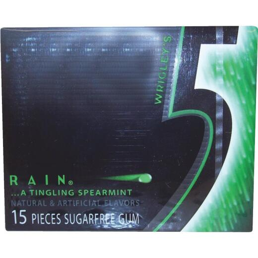 5 Rain Spearmint Gum (15-Piece)